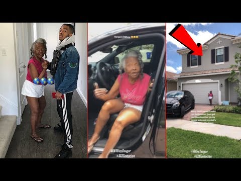XXXTentacion Buys His Grandmother a House