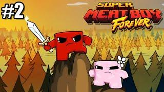 1000 MANERAS DE MORIR | Super Meat Boy Forever #2 · DeiGamer