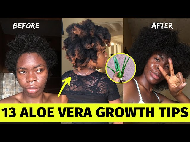 13 USES of ALOE Vera Gel for Massive Natural HAIR GROWTH| Grow 4cHair with Aloe Vera