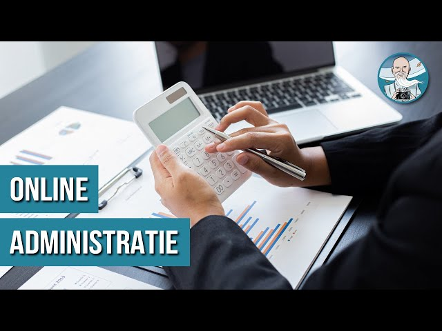 Online Administratie Software voor Fotografen - MoneyMonk