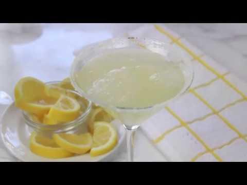 Lemon Drop Martini With Limoncello