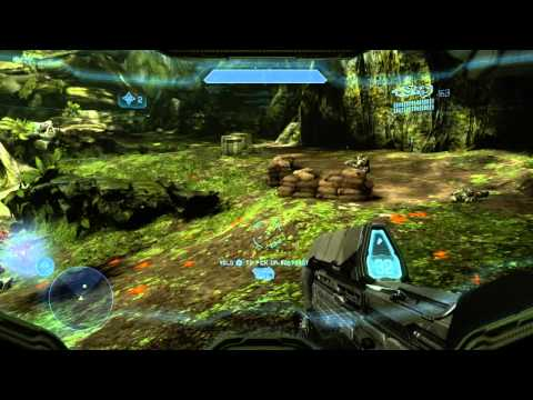 Halo 4 Campaign Walkthrough Mission 4 (Infinity) HD
