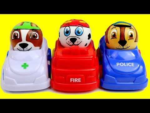 Thumbnail: Baby Learn Colors, PAW PATROL Cars Baby Toy Ball Kids Preschool Children Best Toys Garage Toddlers