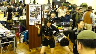 Japanese girls cosplaying as nazis sing and dance part 2 electric boobaloo