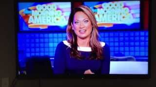 Ginger Zee and Madison on Good Morning America