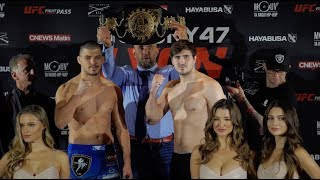 GLORY 47 Lyon: Official Weigh-in Video