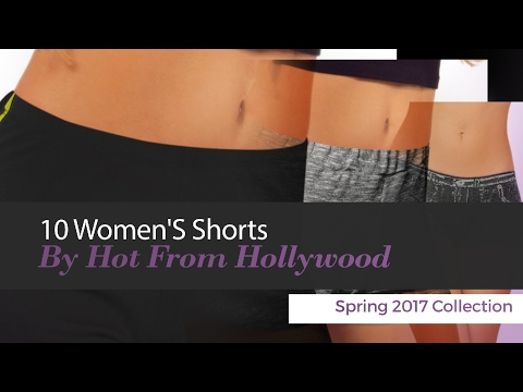 10 Women'S Shorts By Hot From Hollywood Spring 2017 Collection