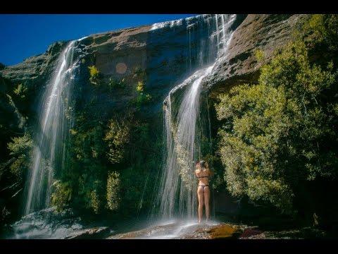 Royal National Park Waterfall Showers [HD]