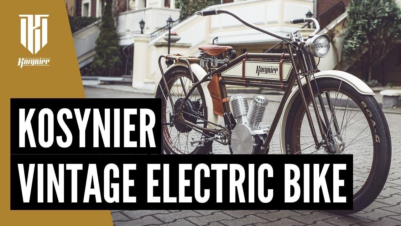 kosynier electric retro bike youtube. Black Bedroom Furniture Sets. Home Design Ideas