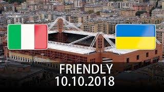 Italy vs Ukraine - International Friendly - PES 2019