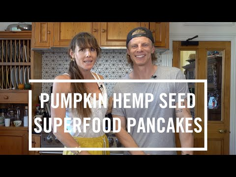 LES MILLS FUEL RECIPES 5 | Pumpkin Hemp Seed Superfood Pancakes