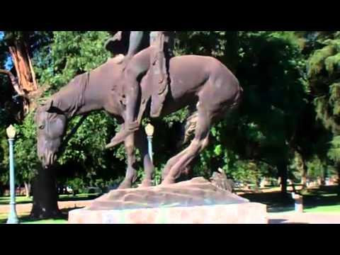 2011: Visalia, California ( Mooney Grove Park & The End of the Trail statue )