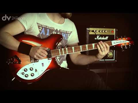 Rickenbacker 360 Electric Guitar Fireglo Tone Demo
