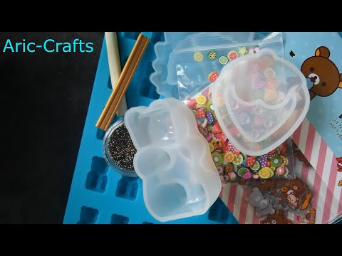 miniature sweet haul | Rilakkuma Stickers, Silicone Molds, Micro Beads, Ect!