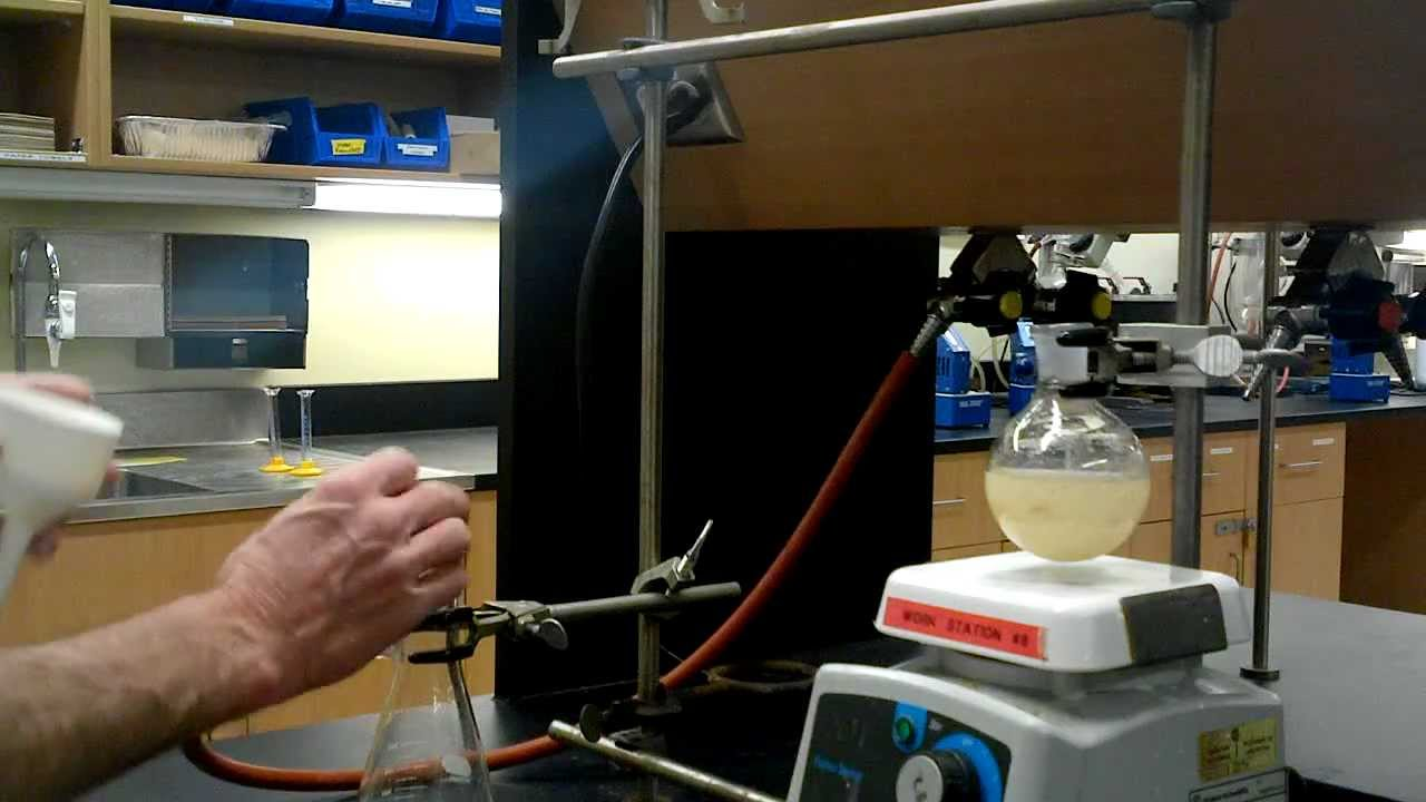 nitration of methyl benzoate report Introduction: in this experiment, you will do an aromatic nitration experiment you will use methyl benzoate as the starting material because methyl benzoate only.
