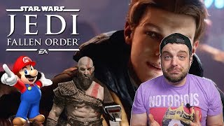 Jedi Fallen Order and the Single Player Games Don't Sell LIE!