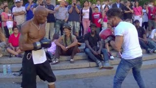 STREET BOXING MATCH! ADAM vs. TEAM USA