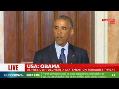 Obama on Orlando shooting & ISIL after Security Council meeting