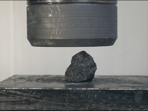 Crushing COAL into DIAMONDS Hydraulic Press- Will it work?