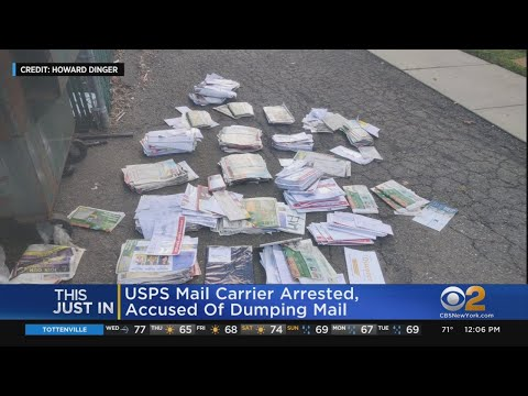 Mail Carrier Arrested For Dumping Mail, Including Ballots
