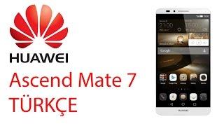 Huawei Ascend Mate 7 TÜRKÇE İnceleme