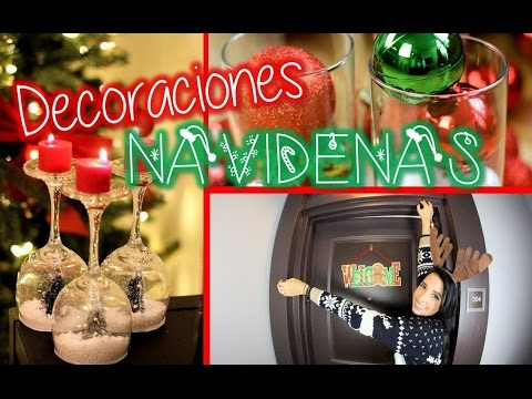 Decoraciones para navidad youtube for Decoracion navidena para oficinas