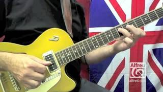 """How to Play """"From Me to You"""" by The Beatles on Guitar - Lesson Excerpt"""