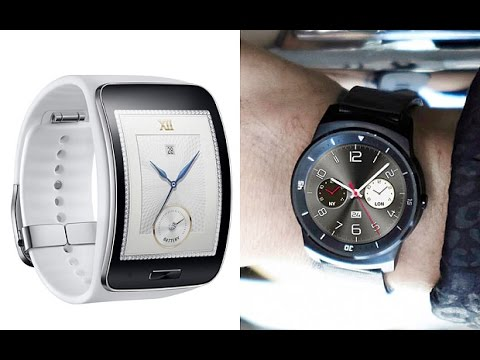 LG G Watch R VS Samsung Gear S