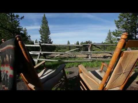 Headwaters lodge cabins at flagg ranch youtube for Headwaters cabins gran teton recensioni