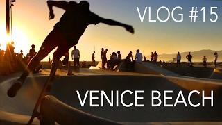 Лос Анджелес, Венис бич, серфинг и скейт парк - Влог 15!