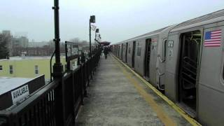 BMT Astoria and Manhattan Bound R160 (N) (Q) at 36th Avenue