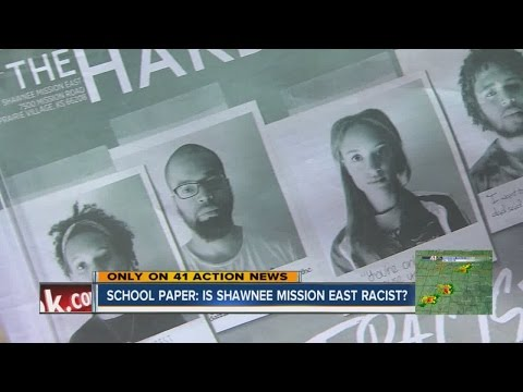 Shawnee Mission East student newspaper sparks discussion about race in school