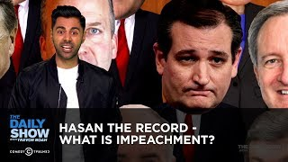 Hasan The Record - What is Impeachment? | The Daily Show thumbnail