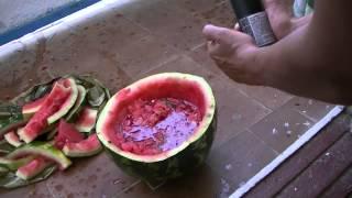 Приготовление супа из арбуза