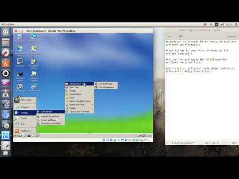 Hiren Boot 15.2 İnceleme Mini Xp Kullanımı