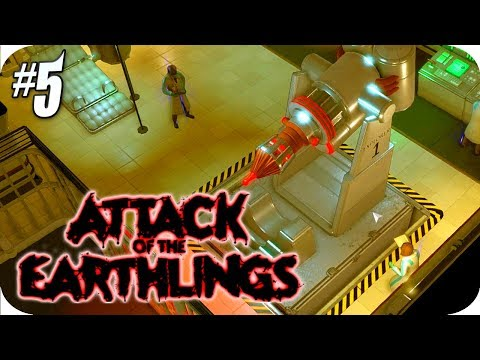 Attack of the Earthlings #5 Research Floor, Giant Probe Device!