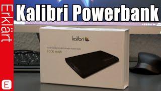 Hochwertige Powerbank für unter 25 Euro! - Kalibri Powerbank mit 6000 mAh - Test / Review (Deutsch)