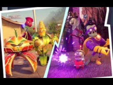Plants vs. Zombies GW2 Gameplay | New Recruits Super Mixed Mode