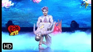 Ritik and Tanvi Performance | Dhee Jodi | 5th December 2018 | ETV Telugu