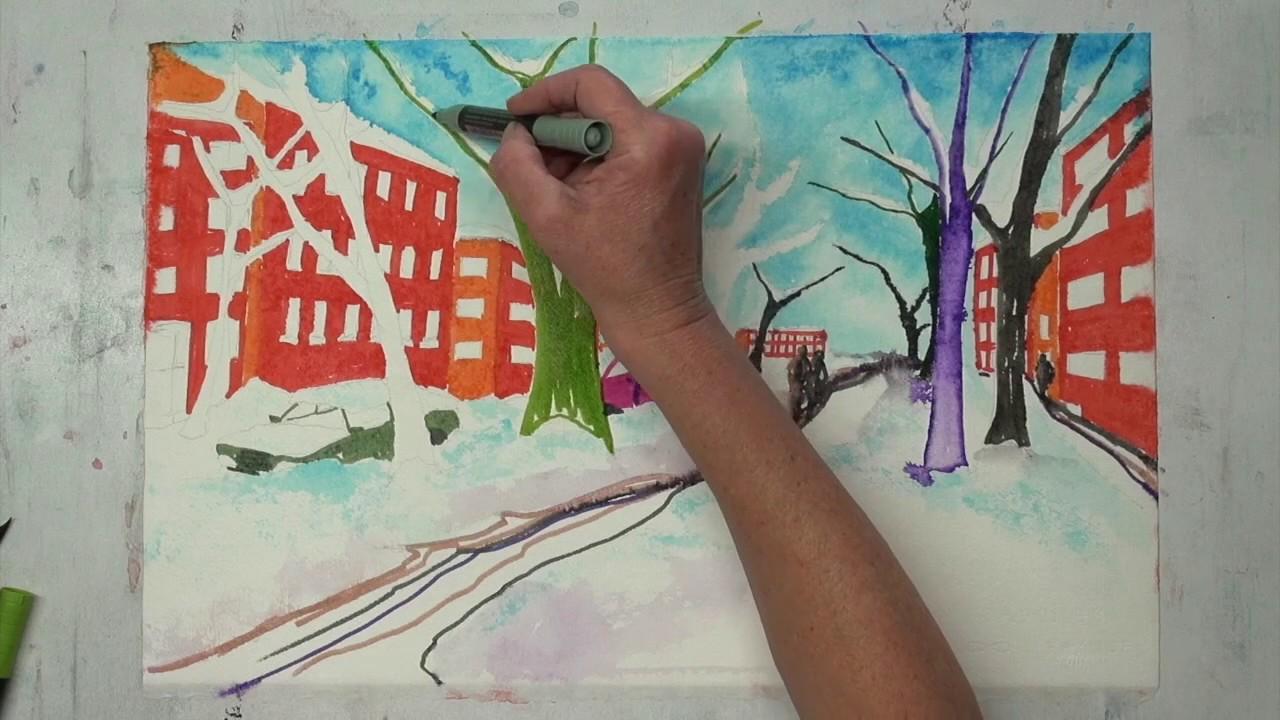 Mein Kreativ Atelier Malen Lernen Gestalten Und Kreativ Sein