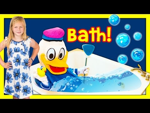 Thumbnail: ASSISTANT Donald Duck Gets Ready for Bed TheEngineeringFamily Funny Kids Video
