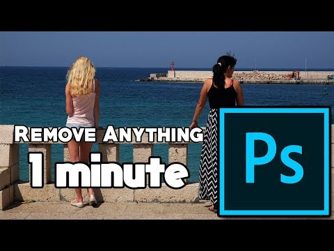 Remove Anything From a Picture in 1 Minute - Adobe Photoshop CS6