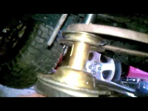 How to Replace a Drive Belt on a Riding Mower  YouTube
