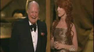Don Rickles being ornry at award show