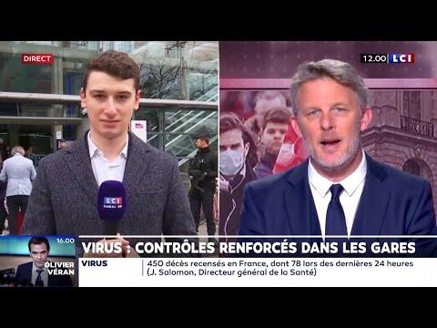 Malgré les contrôles renforcés, beaucoup de monde à la gare Montparnasse