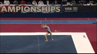 MyKayla Skinner (Desert Lights) - 2010 US Nationals - Floor (Day 2)