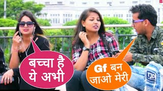 Girlfriend Ban Ja Meri Prank | Proposing To Delhi Girl By Haryanvi Boy | Basant Jangra Pranks |