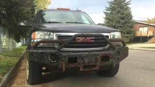 Awesome Bumper On Awesome Chevy Truck (Truck and Life FAIL)