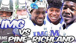 IMG Academy vs Power House Pine-Richland (6A PA State Champs)| Florida vs Pennsylvania Showdown