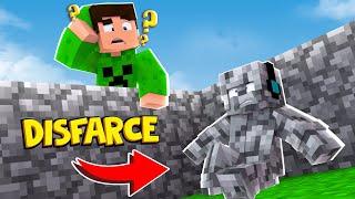 Minecraft: DISFARCE DE BLOCOS DO MINECRAFT - (Esconde-Esconde)
